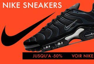 Soldes Nike Sneakers et Vêtements Sportswear pas cher