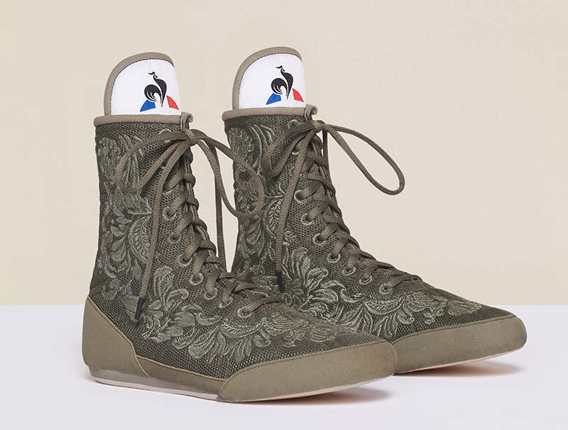 Chaussures de Boxe Le Coq Sportif X Patou