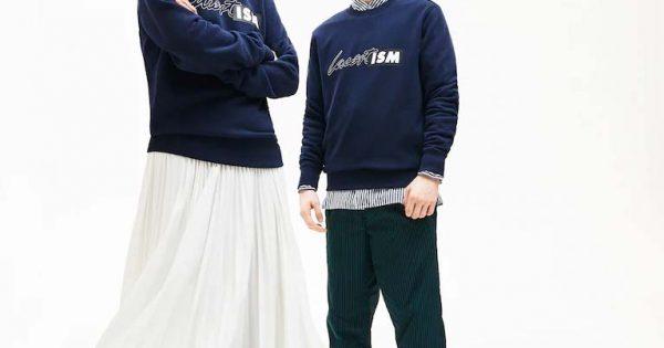 Sweatshirt unisexe Lacoste LIVE
