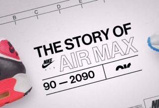 Documentaire l'histoire de la Air Max : de 90 À 2090