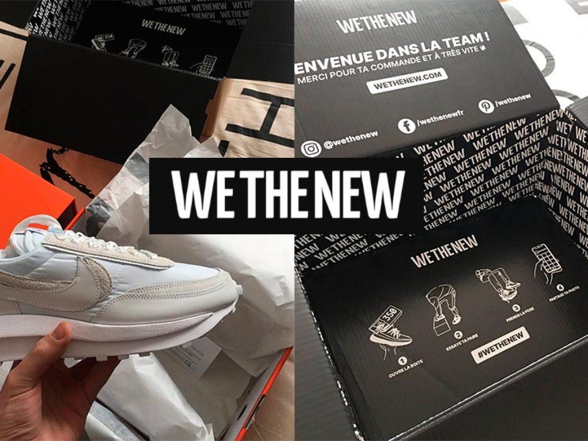 WeTheNew : Achat de Sneakers 100% neuves et authentiques