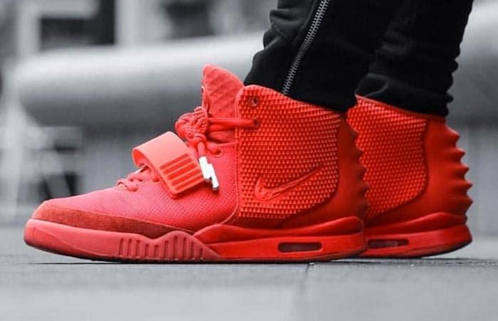 Nike Air Yeezy Red October 2014 - Sku : 508214 660
