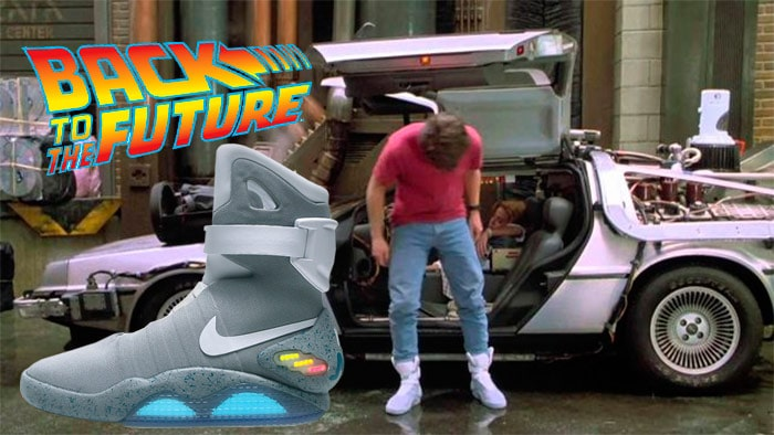 Nike Mag Sneakers Marty Mc Fly - Back to the Future