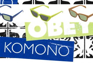 KOMONO x OBEY - une collaboration inédite et trendy