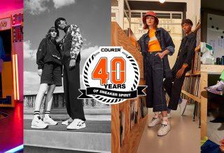 Courir fête ses 40 ans avec 4 collaborations exclusives