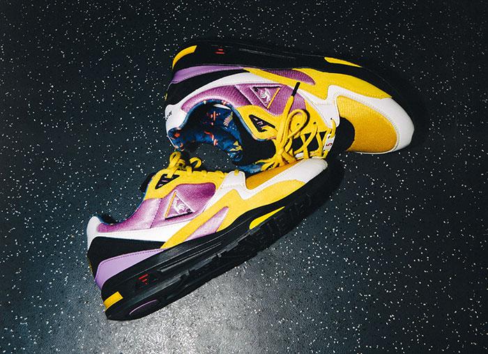 Le coq sportif x Sneakerbox - la collaboration colorée et limitée