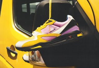 Le coq sportif R800 x Sneakerbox - la collaboration colorée et limitée