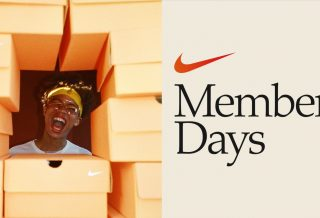"Promotion Nike -25% durant les ""Member Days"""