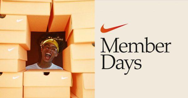 Promotion Nike Member Days