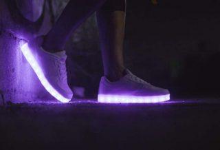 Notre sélection des plus belles chaussures LED