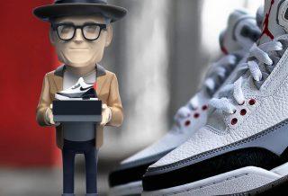 Figurine Tinker Hatfield aka Shoe Designer by Danil Yad X Mighty Jaxx