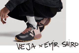 Collaboration VEJA Venturi X Emir Shiro