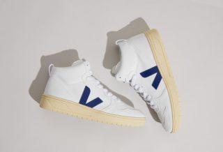 Veja V-15 une sneaker old school inspirée des paires rétro de basketball